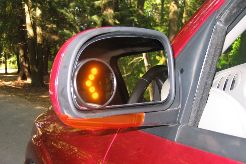 Picture of Wide Angle Signal  Mirrors. Muth Mirror Systems   Automotive Wide Angle Signal Mirror